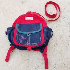 Kid leash backpack for peace of mind